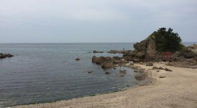 Photo of Beach 弁天岩海水浴場 at Japan