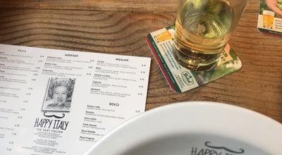 Photo of Italian Restaurant Happy Italy at Wilminkplein 31, Enschede 7511 PP, Netherlands