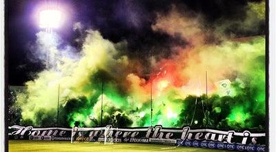 Photo of Soccer Stadium Γήπεδο Απόστολος Νικολαΐδης at Λεωφ. Αλεξάνδρας 160, Αθήνα 114 71, Greece