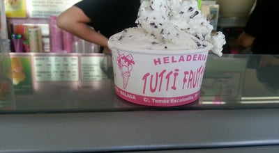 Photo of Ice Cream Shop Heladería Tutti Frutti at C. Tomás Escalonilla, 5, Málaga 29010, Spain