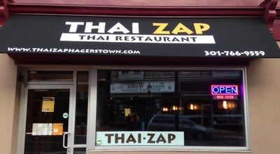 Photo of Thai Restaurant Thai Zap at 40 N Potomac St, Hagerstown, MD 21740, United States