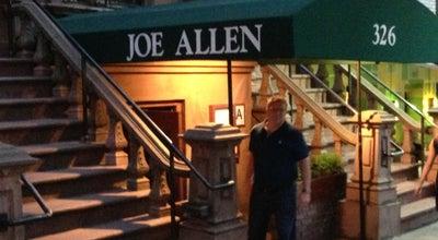 Photo of American Restaurant Joe Allen Restaurant at 326 W 46th St, New York, NY 10036, United States