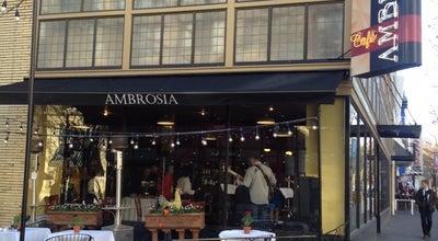 Photo of Cafe Ambrosia Cafe at 1030 K St, Sacramento, CA 95814, United States