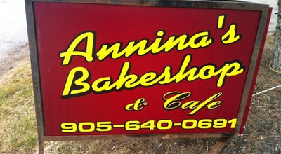 Photo of Bakery Annina's Bakery at 300 Hwy 47, Goodwood, ON, Canada