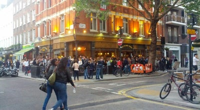Photo of English Restaurant Fitzroy Tavern at 16a Charlotte Street, London W1T 2NA, United Kingdom