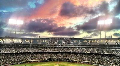 Photo of Baseball Stadium O.co Coliseum at 7000 Coliseum Way, Oakland, CA 94621, United States