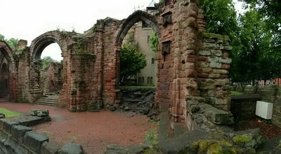 Photo of Church Church Of St John The Baptist (Ruins) at Chester, United Kingdom