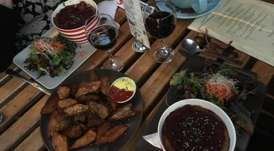 Photo of Vegetarian / Vegan Restaurant Bliss Organic Garden Cafe at 7 Compton St, Adelaide, SA 5000, Australia