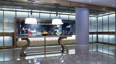 Photo of Mediterranean Restaurant Ichellia Restaurant - Mersin HiltonSA at Palmiye Mah. 1225 Sok. No:1, Mersin 33110, Turkey