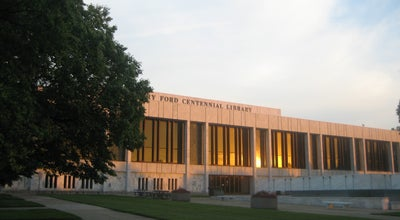 Photo of Library Henry Ford Centennial Library at 16301 Michigan Ave, Dearborn, MI 48126, United States