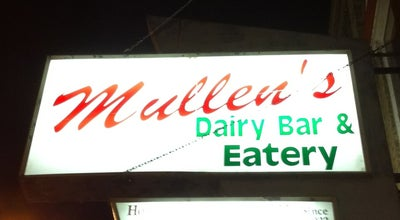 Photo of Ice Cream Shop Mullens Dairy and Eatery at 212 W Main St, Watertown, WI 53094, United States