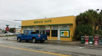 Photo of Cuban Restaurant Mervis' Cafe at 402 S 5th St, Fort Pierce, FL 34950, United States
