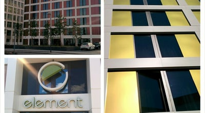 Photo of Hotel Element Frankfurt Airport at De-saint-exupéry-strasse 6, Frankfurt 60549, Germany