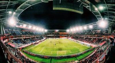 Photo of Soccer Stadium Стадион «Локомотив» at Большая Черкизовская Ул., 125, Москва 107553, Russia