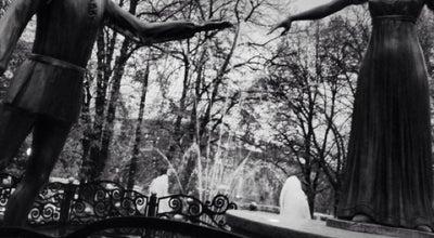 Photo of Outdoors and Recreation Фонтан Кохання Ромео і Джульєтти / Romeo's and Juliet's Fountain of Love at Пл. Різні, Львів, Ukraine