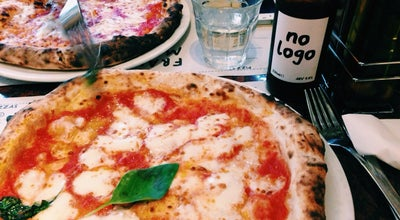 Photo of Pizza Place Franco Manca at 98 Tottenham Court Rd, London W1T 4TR, United Kingdom