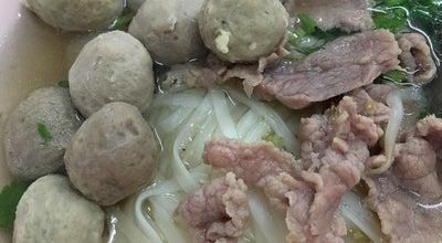 Photo of Ramen / Noodle House ก๋วยเตี๋ยว ลูกชิ้นเนื้อ โอชารส at Talat Nuea, Thailand