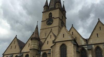 Photo of Church Biserica Evanghelică at Piata Huet, Sibiu, Romania