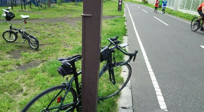 Photo of Trail 白石サイクリングロード始点 at 東札幌2条1, 札幌市白石区 003-0002, Japan