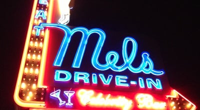 Photo of Diner Mel's Drive-In at 1660 N Highland Ave, Los Angeles, CA 90028, United States