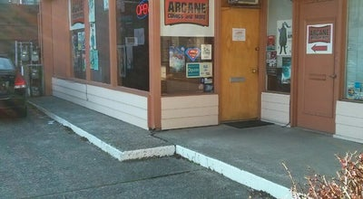 Photo of Toy / Game Store Arcane Comics — Ballard at 5809 15th Ave Nw, Seattle, WA 98107, United States