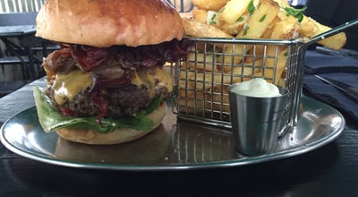 Photo of Burger Joint Grindhouse at Bankstr. 83, Düsseldorf 40476, Germany