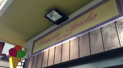 Photo of Ice Cream Shop Cremeria Aurelia at Via Aurelia 396, Roma 00165, Italy