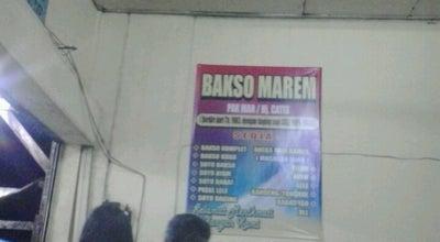 Photo of Asian Restaurant Bakso marem pak Man at Jl Sumarwi Wonosari, Indonesia