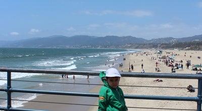Photo of Playground Santa Monica Beach Bounce at 200 Santa Monica, Santa Monica, CA 90401, United States