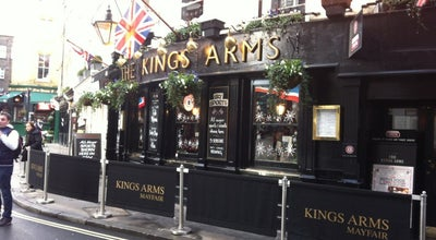 Photo of Pub King's Arms at 2 Shepherd Market, London W17 7QB, United Kingdom