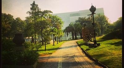 Photo of Park อุทยานมกุฎรมยสราญ (Makut Rommayasaran Park) at ถ.รัตนาธิเบศร์, Mueang Nonthaburi 11000, Thailand