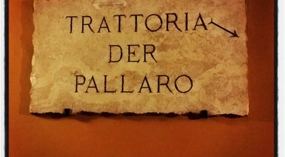 Photo of Italian Restaurant Trattoria Der Pallaro at Largo Del Pallaro 15, Roma 00186, Italy