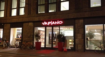 Photo of Italian Restaurant Vapiano at Amstelstraat 2-4, Amsterdam 1017 DA, Netherlands
