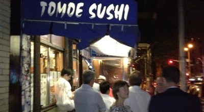 Photo of Sushi Restaurant Tomoe Sushi at 172 Thompson Street, New York, NY 10012, United States