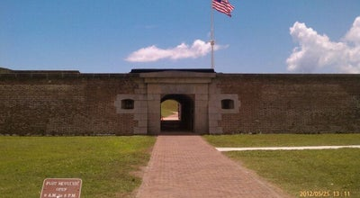 Photo of Monument / Landmark Fort Moultrie at 1214 Middle St, Sullivans Island, SC 29482, United States