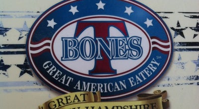 Photo of American Restaurant T-Bones Great American Eatery at 1182 Union Ave, Laconia, NH 03246, United States