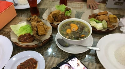 Photo of Asian Restaurant Ayam Penyet RIA at Jl. Raden Saleh, Padang, Sumatera Barat, Indonesia