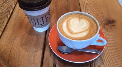 Photo of Coffee Shop Philter at 111 W State St, Kennett Square, PA 19348, United States