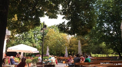 Photo of Beer Garden Zum Flaucher at Isarauen 8, München 81379, Germany