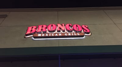 Photo of Mexican Restaurant Bronco's Grill at 960 E Badillo St, Covina, CA 91724, United States