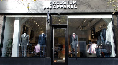 Photo of Men's Store Acustom Apparel at 330 W Broadway, New York, NY 10013, United States