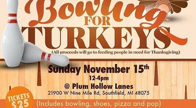 Photo of Bowling Alley Plum Hollow Lanes at 21900 W 9 Mile Rd, Southfield, MI 48075, United States