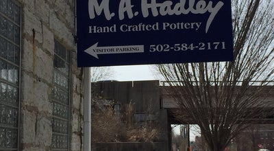 Photo of Arts and Crafts Store M.A. Hadley Pottery at 1562-1572 Story Ave, Louisville, KY 40206, United States