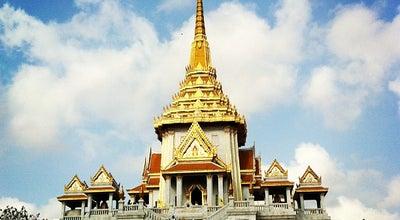 Photo of Buddhist Temple วัดไตรมิตรวิทยาราม (Wat Traimitr Withayaram) at 661 Charoen Krung Rd., Samphanthawong 10100, Thailand