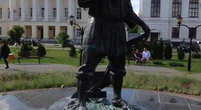 Photo of Monument / Landmark Памятник тамбовскому мужику at Ул. Набережная, Тамбов, Russia