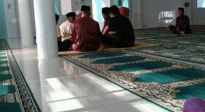 Photo of Mosque Masjid An Nur at Pujut Tanjung Batu, Miri, Malaysia