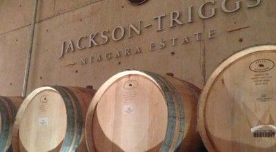 Photo of Winery Jackson-Triggs Winery at 2145 Niagara Stone Rd., Niagara-on-the-Lake, ON L0S 1J0, Canada