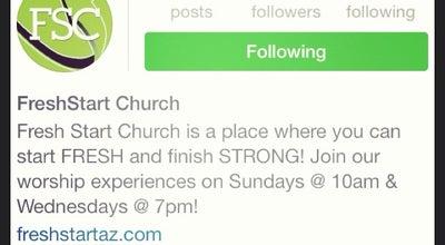 Photo of Church FreshStart Church at 14185 N 83rd Ave, Peoria, AZ 85381, United States