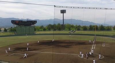 Photo of Baseball Stadium 山日YBS球場 at 小瀬町840 (小瀬スポーツ公園野球場), 甲府市 400-0836, Japan