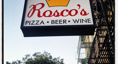 Photo of Pizza Place Rosco's Pizza at 685 Franklin Ave, Brooklyn, NY 11238, United States